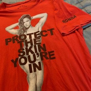 Marc Jacobs Ronda Rousey tee Size S